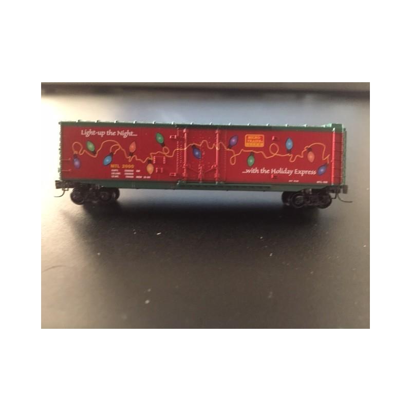 489-13621-2 Z 50' Std. Box Car Holyday Car_52175