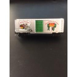 489-14133-2 Z 40' Box Car Weihnachtswagen_52201