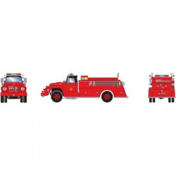 HO Ford F-850 Fire Truck Chicago_52245