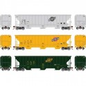 HO PS4740 Covered Hopper C&NW (3 Stk)_52271