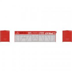 140-75983 HO 40' Stock Car CP Rail_5228