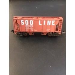 150-3163 N 2 bay PS-2 Covered Hopper SOO_52411
