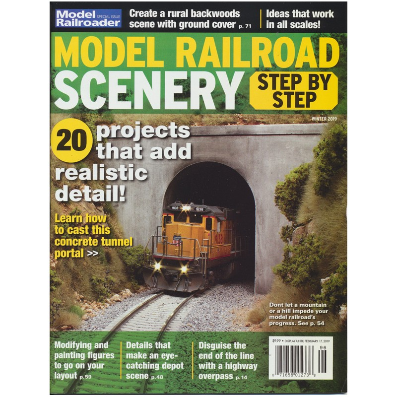 Model Railroad Scenery Step by Step - Old Pullman Modellbahnen AG