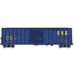 HO 50' ACF Exterior Post Boxcar CSX 129971_52457