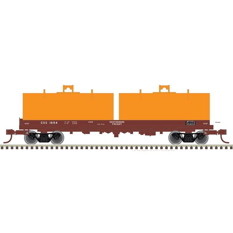 N Cushion Coil Car Southshore Freight 1694_52511