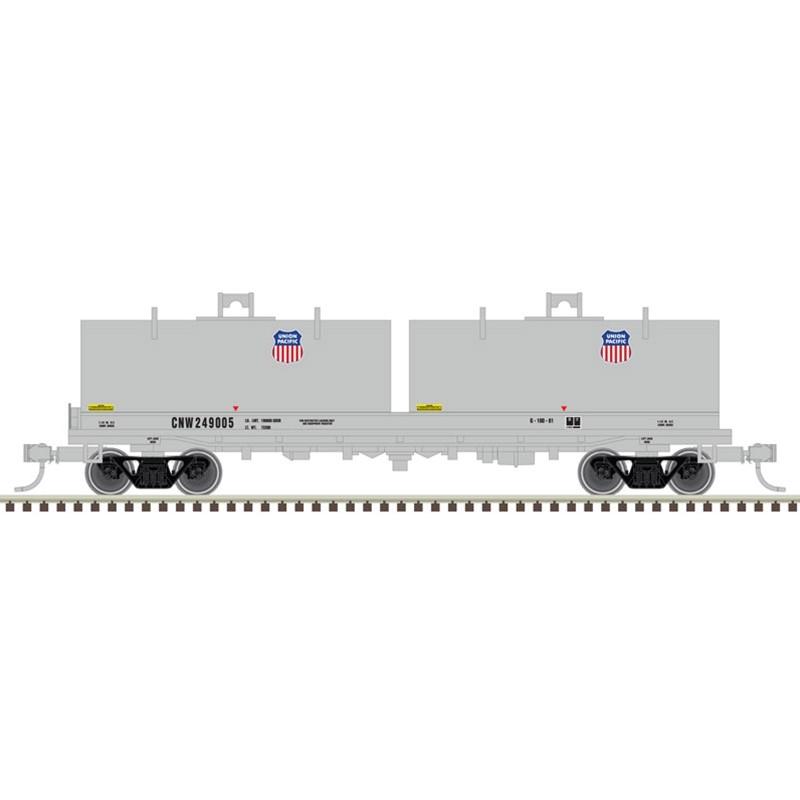 N Cushion Coil Car Union Pacific 249007_52516