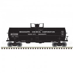 N 11,000 Gallon Tank Car Mississippi Chemical 506