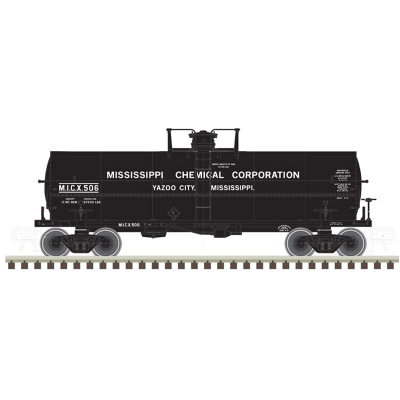 N 11,000 Gallon Tank Car Mississippi Chemical 506_52565