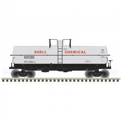 HO 11,000 Gallon Tank Car Shell Chemical 1606_52596