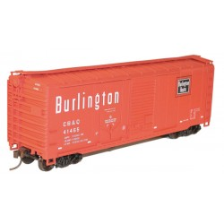 HO 40' Comb. Door Steel Boxcar - Kit CB&Q 41465_52724