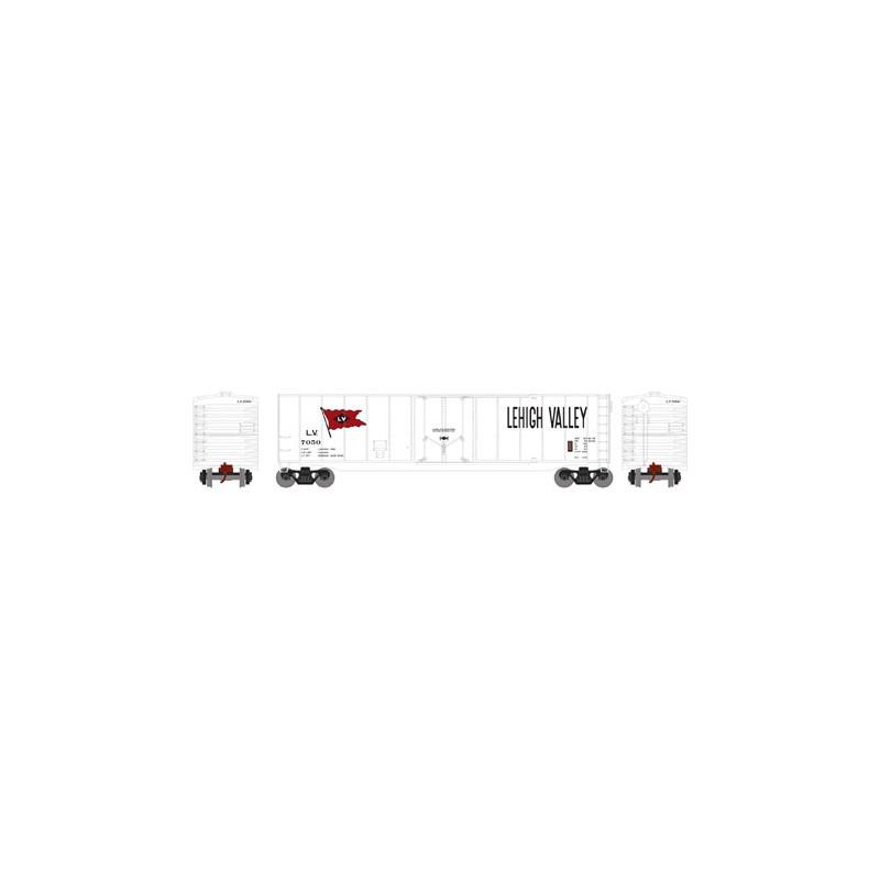 HO 50' sgl plug door box car Lehigh Valley 7053_52794