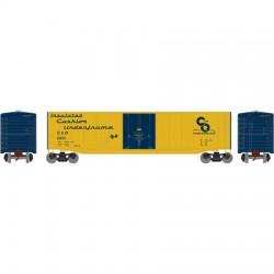 HO 50' sgl plug door box car C&O 23315