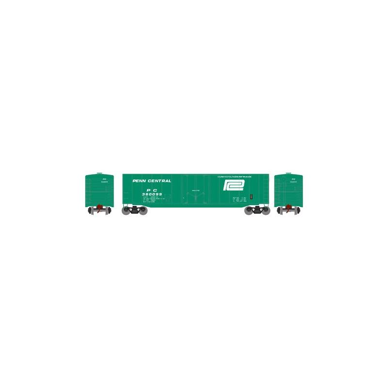 HO 50' sgl plug door box car Penn Central 360099_52804