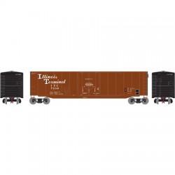 HO 50' sgl plug door box car Illinois Term. 7150