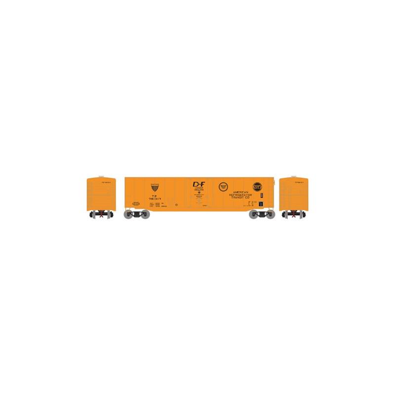 HO 50' sgl plug door box car Texas Pacific 781317_52812
