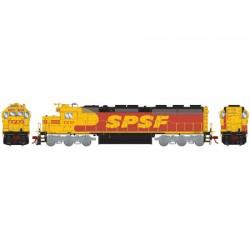 HO SD45-2 SPSF 7221 (DCC)_52822