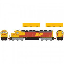 HO SD45-2 Santa Fe 7208 (DC)_52825