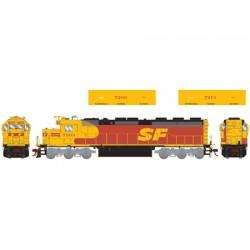 HO SD45-2 Santa Fe 7213 (DC)_52834