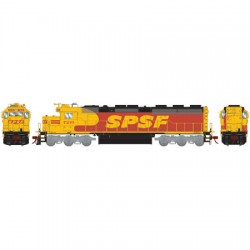 HO SD45-2 Santa Fe 7207 (DCC)