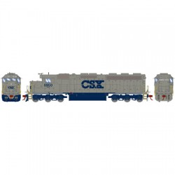 HO SD45-2 CSX/Solid Grey 8950 (DCC)