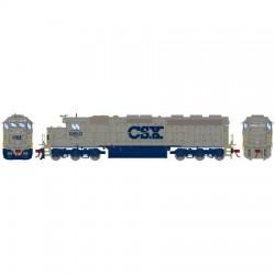 HO SD45-2 CSX/Solid Grey 8950 (DC)