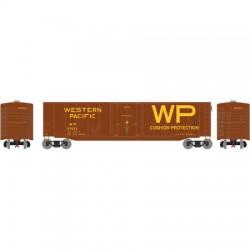 N 50' PS-1 plug door box car WP 57092_52888