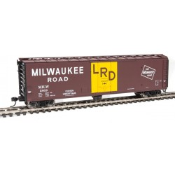 HO PC&F 50' Insulated Boxcar Milwaukee Road 2819_53104