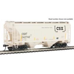 HO 39'  2-Bay Cov Hop. CSX 1_53380