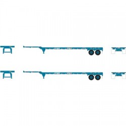 HO 45' Container Chassis Trans Pacific(2-pack)_53484