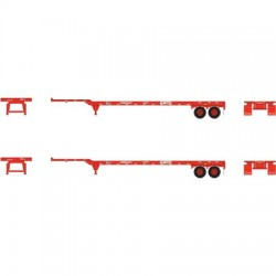 HO 45' Container Chassis K Line (2-pack)_53488