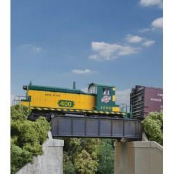 HO 30' Single-Track Railroad Through Girder Bridge_53552