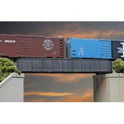 HO 50' Single-Track Railroad Through Girder Bridge_53556