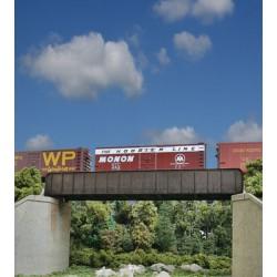 HO 70' Single-Track Railroad Through Girder Bridge_53564