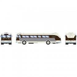 HO Intercity Bus - black & white_53585