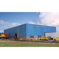HO Lakeville Modern-Style Warehouse
