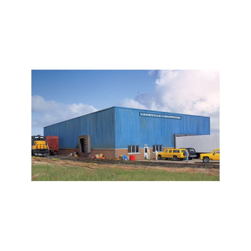 HO Lakeville Modern-Style Warehouse_53812
