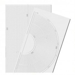 HO Embossed PVC Sheets (Curved Roads)_53858