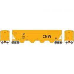 HO ACF 4-Bay cov. hopper CNW 49020_54194