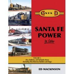 Santa Fe Power In Color V1: Alco, Baldwin, & FM (i