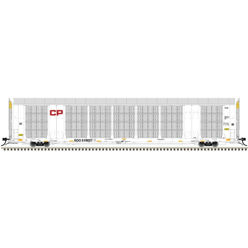 HO Gunderson Multi-Max Auto Rack CP-SOO 519090_54720