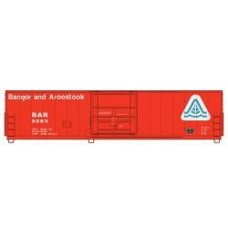 HO 50' Insulated Boxcar Bangor & Aroostook #9070_54728