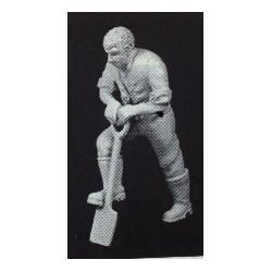 PHO-124 1:43 Figuren unbemalt, Arbeiter grabend_55116