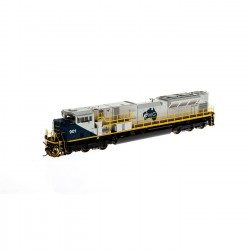 HO SD90MAC-H Ph II (DCC/S) Fortescue Metal 904_55182