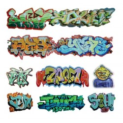 O Graffiti Decals Set 1_55189