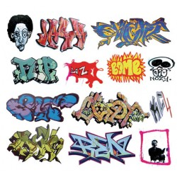 O Graffiti Decals Set 7_55191