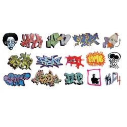 HO Graffiti Decals Set 12_55200