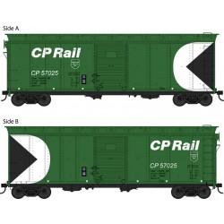 HO 40ft Box Car CP Rail Newsprint 57042_55251