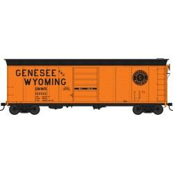 HO 40ft Box Car Genesee and Wyoming 100014_55253