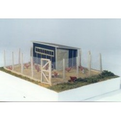 164-464 O Chicken Coop with Chickens_5534