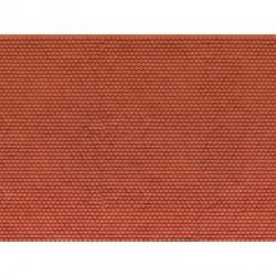 HO 3D-Kartonplatte Biberschwanz 25 x12,5cm_55337